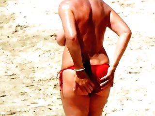 Spy Beach Matures Moist Saggy Grannys Flashing Of Gilf Muff