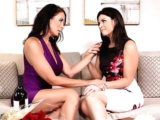 India Summer & Reagan Foxx In Stood Up By Her Hubby, Scene #01 - Girlsway