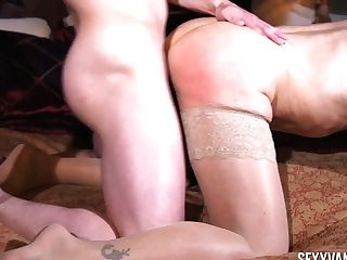 Friends Cougar Mom Gets In Pants And Bj's A Dick Voraciously