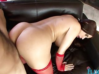 Hooker In Santa Apparel Nikki Hill Gives A Suck Off And Gets Her Poon Fucked