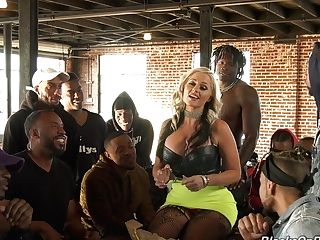 Fucking Awesome Milky Chick Alena Croft Is Going To Serve A Few Black Guys