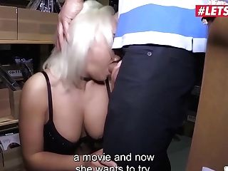 Letsdoeit - Big Tits Blonde Cougar Lilli Vanilli Is Fucked Hard In The Bums Bus