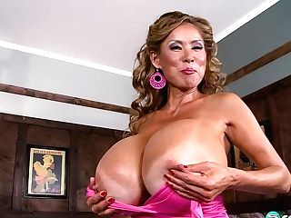 Taut Tops Over Giant Tits - Bigboobbundle