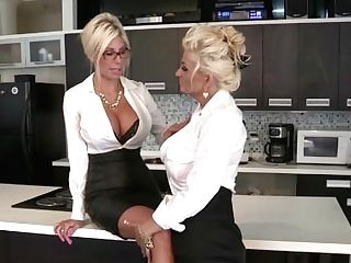 Euro Stunner Puma Swede Fucks The Office Mega-bitch!