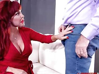 Pornstarplatinum Sandy-haired Sexy Vanessa Smashed By Old Fuck-stick