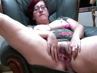 Huge-titted Bbw Mummy Jayne L In Pantyhose Does Striptease And Gear Have Fun
