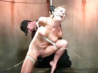 California Chick Gets Wrecked By Intense Tying And Brutal Torment.