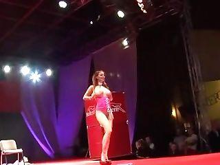 Tarra Milky - Live Unwrap Showcase 1.1 At Erotic Fair In Prague